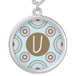 Monogram Necklace - Letter U