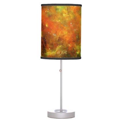 Monogram: North American and Pelican Nebulae Table Lamp
