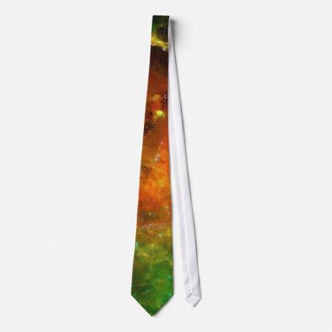Monogram North American and Pelican Nebulae Tie