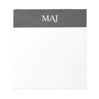Monogram Notepads