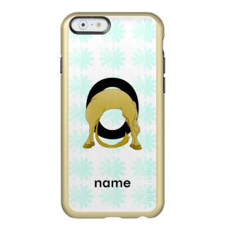 Monogram O Flexible Pony Personalised Incipio Feather Shine iPhone 6 Case