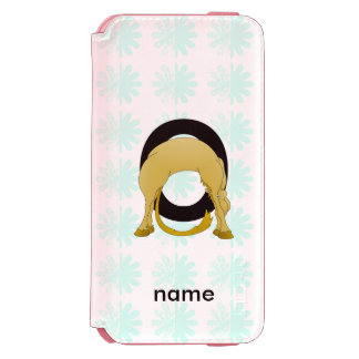 Monogram O Flexible Pony Personalised iPhone 6/6s Wallet Case