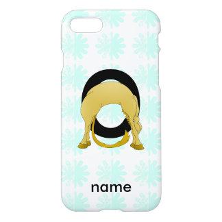 Monogram O Flexible Pony Personalised iPhone 8/7 Case