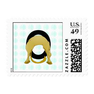Monogram O Flexible Pony Personalised Postage