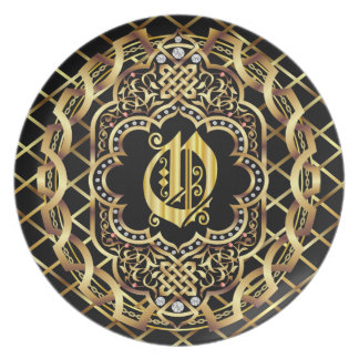 Monogram O IMPORTANT Read About Design Plate
