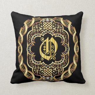 Monogram O IMPORTANT Read About Design Throw Pillow