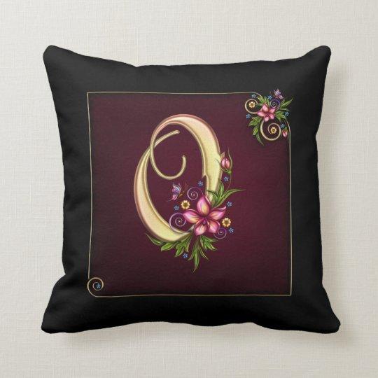 Monogram O Pillow