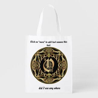 Monogram O Shopping Bag