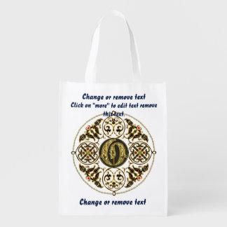 Monogram O Shopping Bag Reusable