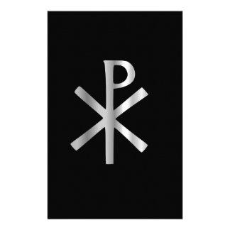 Monogram of Christ - chi rho Stationery