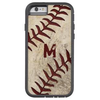 MONOGRAM or Jersey NUMBER Baseball Phone Case