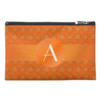 Monogram orange basketballs travel accessories bags