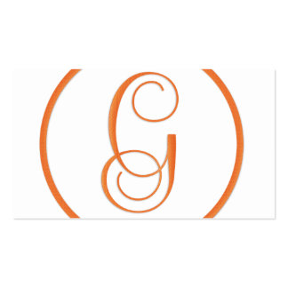 Elegant Letter G