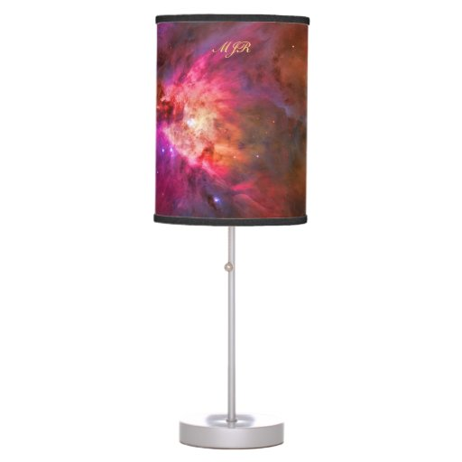 Orion Modern Table Lamp: Monogram Orion Nebula And Trapezium Stars Table Lamp