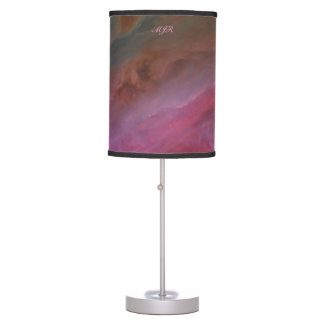 Monogram, Orion Nebula Pillars of Dust space image Desk Lamp