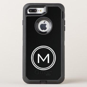 monogram_bouquet Monogram OtterBox Defender iPhone 7 Plus Case