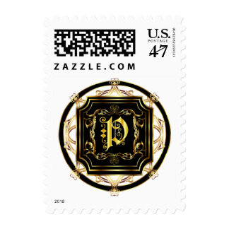 Monogram P Fits all Get Other Products W/Monogram Postage