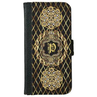 Monogram P IMPORTANT Read About Design iPhone 6 Wallet Case