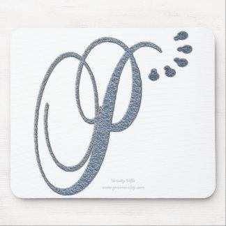 Monogram P Mouse Pad
