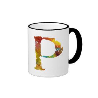 Monogram - P - Mug