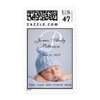 Monogram P Names Boy New Baby Postage Stamps