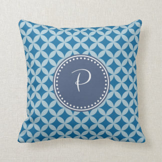 Monogram 'P' Throw Pillow