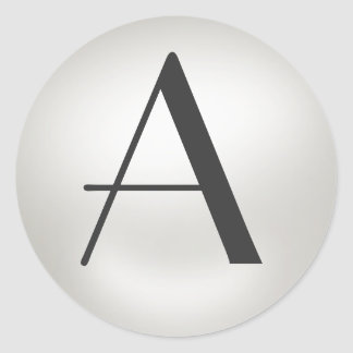 Monogram Pearl Stickers