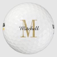 Monogram Personalized Golf Balls