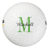 Monogram Personalized Golf Balls