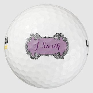 Monogram Personalized Golf Gift Golf Balls