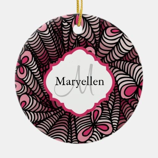 Monogram Personalized Ornament