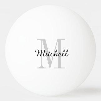 Monogram Personalized Ping Pong Balls