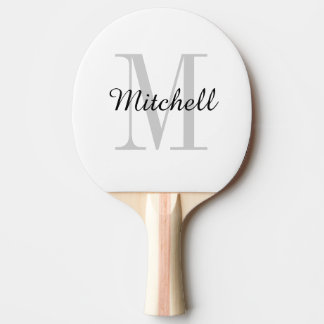 Monogram Personalized Ping Pong Paddle