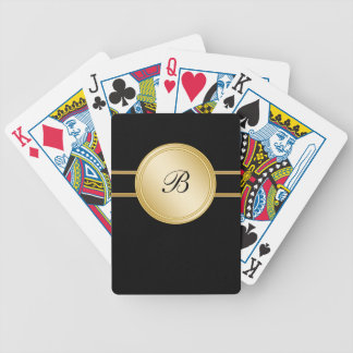 Monogram Personalized Playing Cards
