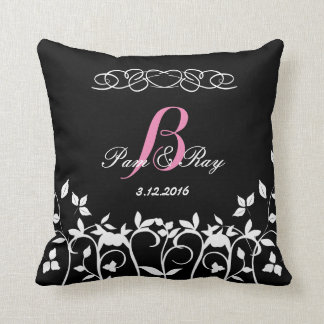 Monogram Pillow - Wedding Gifts for the Home