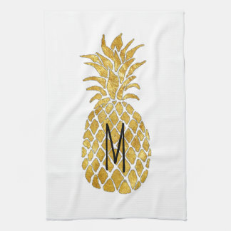 monogram pineapple towel