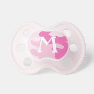 Monogram Pink Camo | Pacifier BooginHead Pacifier