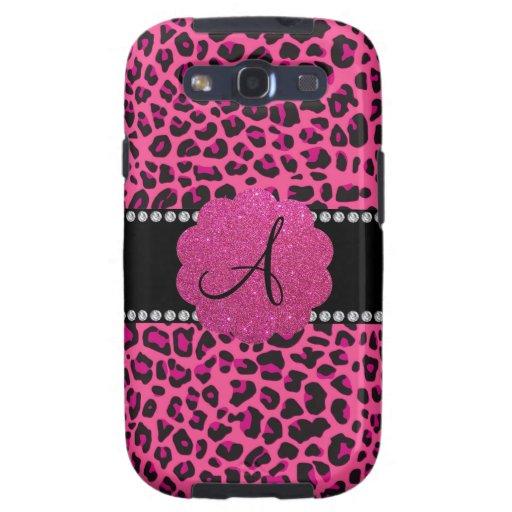 Monogram pink leopard samsung galaxy SIII covers