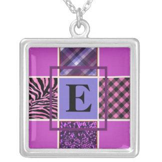 Monogram Pink Mix Necklace