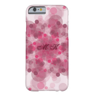 Monogram pink pattern phone case barely there iPhone 6 case