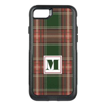 monogram_bouquet Monogram Plaid OtterBox Commuter iPhone 7 Case