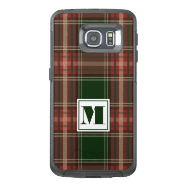monogram_bouquet Monogram Plaid OtterBox Samsung Galaxy S6 Edge Case