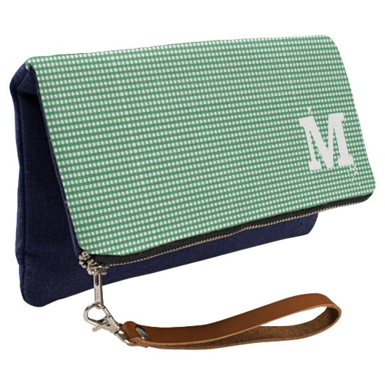 Monogram. Plain & Simple. Clutch