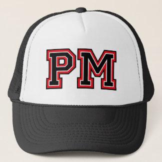 Monogram 'PM' initals Trucker Hat