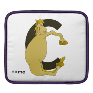 Monogram Pony C iPad Sleeve