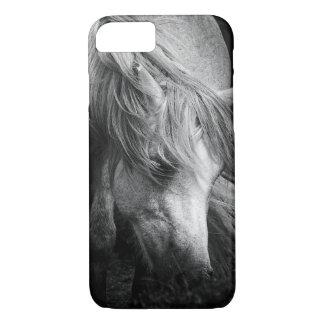 Monogram Pony Portrait - Dartmoor Pony Mare iPhone 8/7 Case
