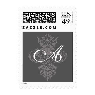 monogram postage