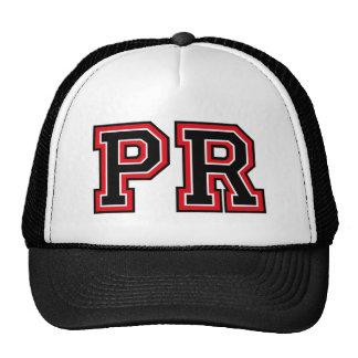 Monogram 'PR' initials Trucker Hat