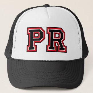 Monogram 'PR' Trucker Hat