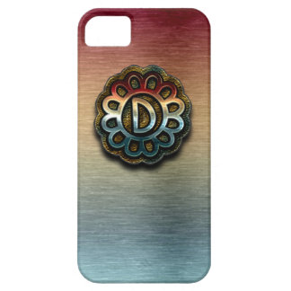 Monogram Precious Metals D iPhone SE/5/5s Case